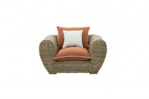 Кресло Пеллегрино CRUZO натуральный ротанг, светло-коричневый, PL0005