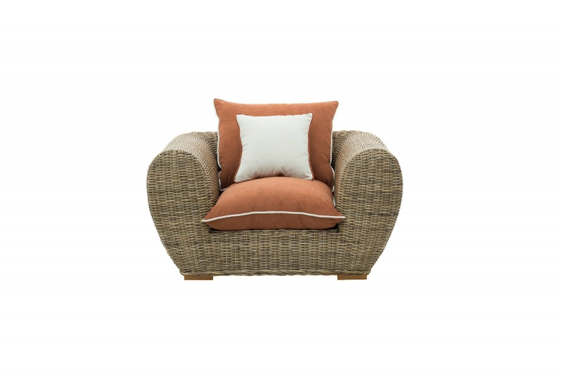 Кресло Пеллегрино из натурального ротанга, Cruzo™, PL0005