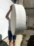 Плаваюча таця для басейну зі штучного ротангу білого кольору CRUZO dec0408