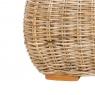 Кавовий столик Пеллегріно CRUZO натуральний ротанг, світло-коричневий, PL0006