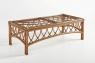 Комплект меблів Феофанія Преміум CRUZO (диван, софа, крісло, пуф і столик) натуральний ротанг, коричневий, d0027