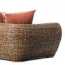 Крісло Пеллегріно CRUZO натуральний ротанг, світло-коричневий, PL0005