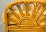 Диван трехместный Аскания Премиум CRUZO натуральный ротанг, королевский дуб, as0013