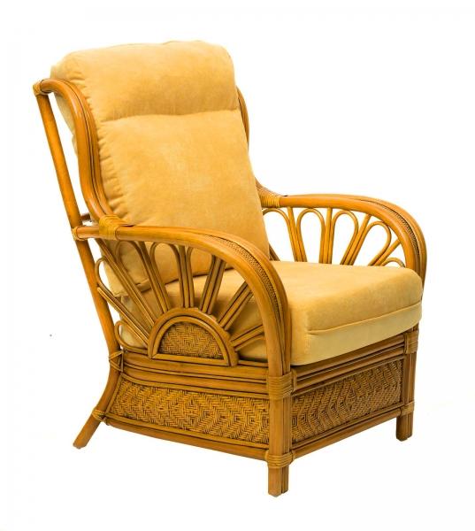 Кресло Аскания Премиум из натурального ротанга, Cruzo™, as0011