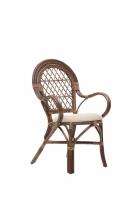 Кресло Бали из натурального ротанга, ba0001