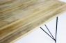Обідній стіл Саманта CRUZO (180x90 см), тик, натуральний, os0733