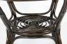 Обідній стіл Келек CRUZO натуральний ротанг темно-коричневий kl0300