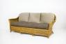 Комплект Монте Карло CRUZO (диван, кресло и столик) натуральный ротанг ореховый mc0001