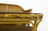 Комплект Монте Карло CRUZO (диван, крісло й столик) натуральний ротанг, горіховий, mc0001