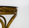 Обеденный комплект Монте Карло CRUZO (стол и 4 кресла) натуральный ротанг светло-коричневый ok0049