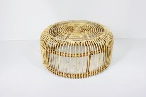 Кавовий столик Літа CRUZO натуральний ротанг, медовий, sa02933