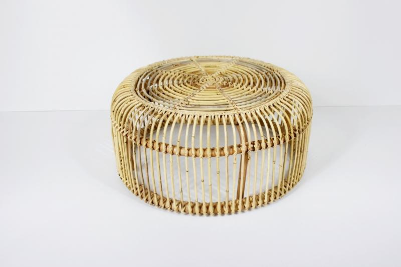 Кофейный столик Лита CRUZO натуральный ротанг, медовый, sa02933