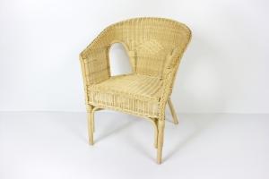 Кресло Келек CRUZO натуральный ротанг медовый kl0020