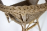 Крісло Келек CRUZO натуральний ротанг, темно-коричневий, kl0030