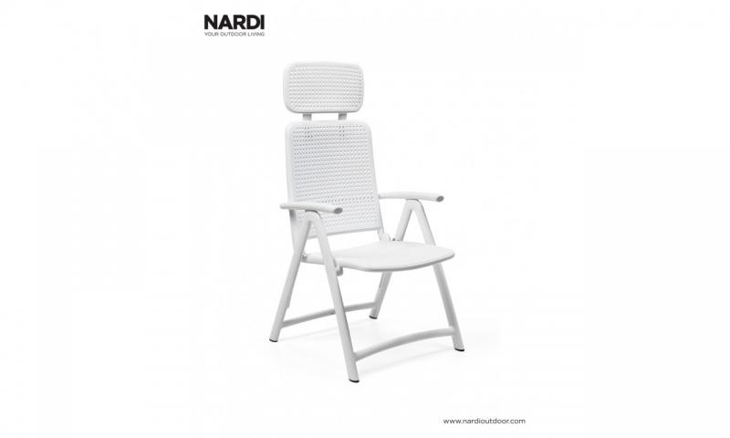 Крісло-шезлонг Nardi Acquamarina Bianco 40314.00.000