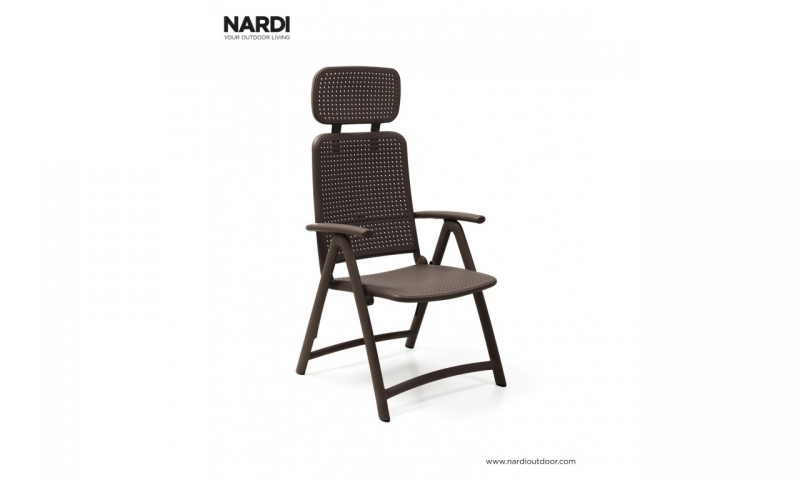 Крісло-шезлонг Nardi Acquamarina Caffe 40314.05.000