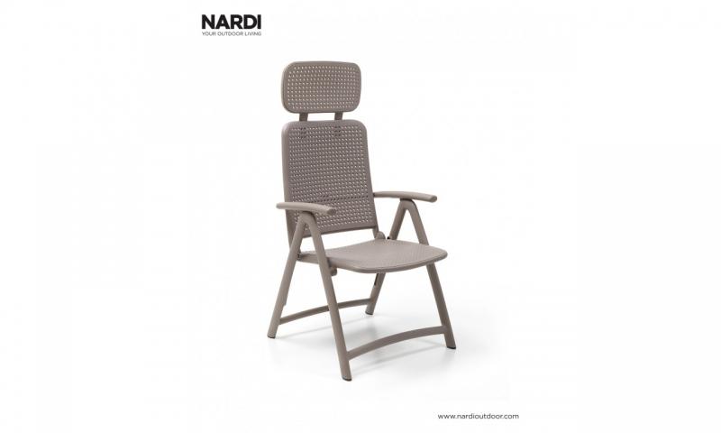 Кресло-шезлонг Nardi Acquamarina Tortora 40314.10.000