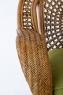 Кресло Ацтека CRUZO натуральный ротанг, светло-коричневый, d01283