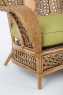 Софа Ацтека CRUZO натуральний ротанг, світло-коричневий, d00289