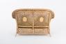 Софа Ацтека CRUZO натуральный ротанг светло-коричневый d00289