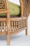 Софа Ацтека CRUZO натуральный ротанг, светло-коричневый, d00289