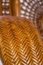 Комплект меблів CRUZO Ацтека (софа, 2 крісла й кавовий столик) натуральний ротанг, королівський дуб, d0020