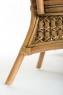 Обеденный стол Ацтека CRUZO (на 6 персон) натуральный ротанг, светло-коричневый, st0012a