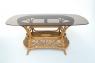 Обеденный комплект Ацтека CRUZO светло-коричневый (стол + 6 кресел) ok0028