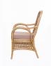 Обеденное кресло Ацтека CRUZO натуральный ротанг светло-коричневый kr0021