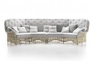 Комплект мебели Амели CRUZO натуральный ротанг, медовый, md00099