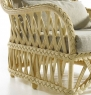 Крісло Амелі CRUZO натуральний ротанг, медовий, k00095