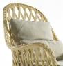 Комплект меблів Амелі CRUZO натуральний ротанг, медовий, md00099