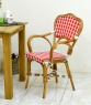 Кресло CRUZO Bistro Armchair 4 натуральный ротанг темно-медовый kr0014