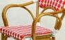 Кресло CRUZO Bistro Armchair 4 натуральный ротанг, темно-медовый, kr0014