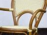 Кресло CRUZO Bistro Armchair 6 натуральный ротанг, медовый, kr0013