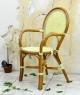 Кресло CRUZO Bistro Armchair 6 натуральный ротанг медовый kr0013
