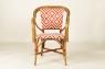 Кресло CRUZO Bistro Armchair 1 натуральный ротанг, медовый, kr0011