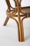 Обідній стіл Асканія CRUZO натуральний ротанг, королівський дуб, st0014