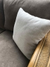 Комплект м'яких меблів Асканія з кутовим диваном, овальним обіднім столом та 3 стільцями з натурального ротангу CRUZO dca0017