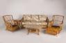 Комплект меблів Асканія Преміум CRUZO натуральний ротанг, королівський дуб, d0018