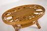 Комплект мебели Аскания Премиум CRUZO натуральный ротанг, королевский дуб, d0018