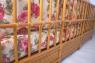 Угловой диван Аскания со столиком CRUZO натуральный ротанг, королевский дуб, d0017