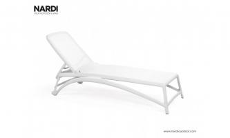 Шезлонг Nardi Atlantico Bianco Bianco 40450.00.107