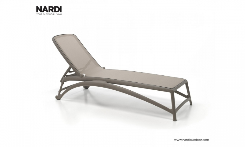 Шезлонг Nardi Atlantico Tortora Tortora 40450.10.104