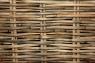 Комплект плетених меблів Бабл (диван і 2 крісла) натуральний ротанг, коричневий, bb0013