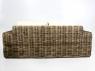 Диван Бабл CRUZO натуральний ротанг, коричневий, bb0011