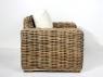 Кресло Бабл CRUZO натуральный ротанг, коричневый, bb0012