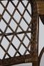 Кресло Бали CRUZO натуральный ротанг, коричневый, ba0001