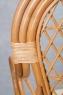 Крісло Балі CRUZO натуральний ротанг, коньяк, ba0002