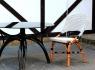 Стул CRUZO Bistro Chair 3 натуральный ротанг медовый s0003